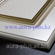 МДФ Фасад Aura plus матовый, спецэффект - кракелюр, патина - золото фото
