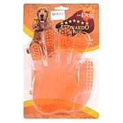 Перчатка резиновая для шерсти собак фото
