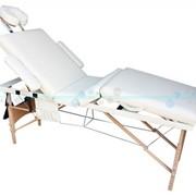 Деревянный 4-х сегментный стол для массажа фото