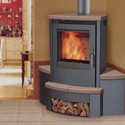 Печи угловые Fireplace — Passat K U фото