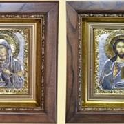 Икона венчальная №179 - Владимирская ( Венчальная пара ) фото