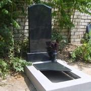 Комплект гранитного памятника фото