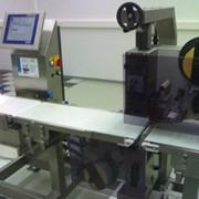 Системы динамического взвешивания и этикетирования фирмы Mettler Toledo (Швейцария) фото