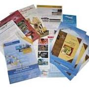 Изготовление листовок рекламных фото