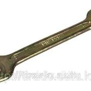 Ключ рожковый Зубр , серия Т-80, оцинкованный, 12х13мм Код:2701-12-13 фото