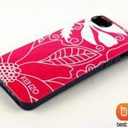 Накладка iPhone 5S KENZO (гелевый) Цветы №19 73185r фото