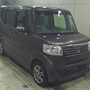 Микровэн турбо HONDA N BOX кузов JF1 класса минивэн модификация G Turbo L гв 2014 пробег 60 т.км коричневый фото