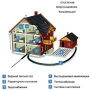 Монтаж сантехнических систем и оборудования фото