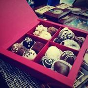 Коробочка с конфетами ручной работы фото