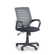 Кресло компьютерное Halmar SANTANA (черно-серый) фото
