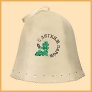Аксессуары для сауны. Шапки, перчатки, коврики из войлока. фото
