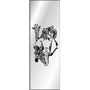 Обработка пескоструйная на 1 стекло артикул 3-09 фото