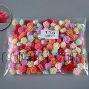 Розы акриловые в браслет в асс. 1,4см/200шт арт.378 4784 фото