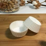 Пергаментные капсулы круглые. Цвет: белый, d35х20, 2000 шт.