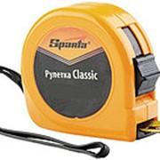 Рулетка Classic, 3м х 16мм, пластиковый корпус // SPARTA 31302 фото