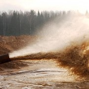 Добыча и реализация мытого и строительного песка фото