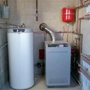 Монтаж и установка газовых напольных котлов в Житомире. фото