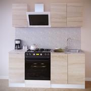 Прямой кухонный гарнитур Сокол-1 180 см фото