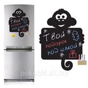Магнитная доска на холодильник Обезьянка фото