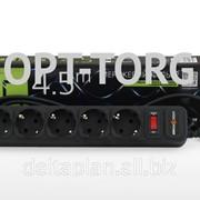 LogicPower 4.5 м / 5 роз. фільтр-мереж., чорний (40) фото