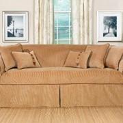 Съемный чехол на диван фото