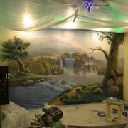 Роспись стен в Бресте детские комнаты фото