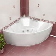 Акриловая гидромассажная ванна «ТРОЯ» фото