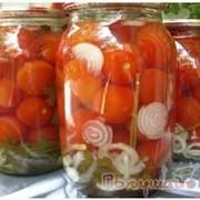 Томаты консервированные, помидоры фото