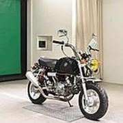 Мопед мокик Honda Monkey Gorilla рама Z50J год выпуска 1996 тюнинг пробег 4 т.км черный фото