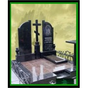 Памятники ритуальные двойные фото