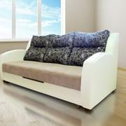 Диван LEDA L1 с подушками фото