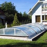 Павильоны для бассейнов низкие фото