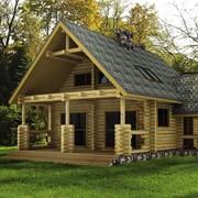 Дома, котеджи, бани строиим из дерева. фото