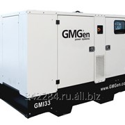 Дизельный генератор GMGen GMI33 в шумозащитном кожухе фото