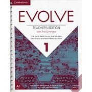 Chris Speck, Wayne Rimmer, Aida Sahutoglu Evolve 1 Teacher's Edition With Test Generator фото