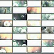 Листовая панель ПВХ Плитка Одуванчик 960*480мм, толщина 0,4 мм фото