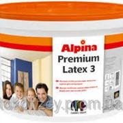 Alpina Premiumlatex 3 E.L.F. B3 особо стойкая латексная краска матовая 2,35 л фото