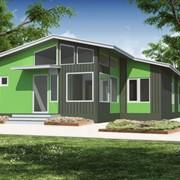 Проект жилого дома общей площадью 175,4 м.кв. фото