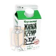 Кефир Козельский Живой 3,2% 450г пюр-пак фото
