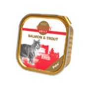 Корм для котов Araton Salmon&Trout паштет для кошек 100 гр фото