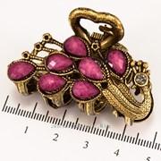 Краб (5 см.) бронзовый с цветными камнями 213276(44) фото