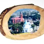 Сувенир - магнит на дереве (береза) фото