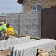 Ремонт еврозабора, замена плит и столбов в Запорож фото