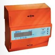Счетчик электроэнергии модульный LCD 3F 7M 3 x 10/100A фото