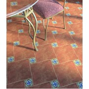 Плитка на пол керамическая коллекция Анастасия фото
