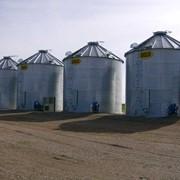 Фермерские зернохранилища Sioux Steel фото