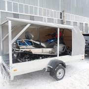 Автоприцепы для перевозки снегохода 100-09 фото