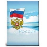 """Книга учёта А4 Prof Press """"Россия"""" 196 л, клетка, 7БЦ, глянц. ламин, блок-офсет, 196-7157 фото"""