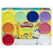 Play-Doh. Плэй-До Набор игровой 8 баночек Радужный комплект для начинающих , 2+ фото