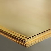 Прокат латунный-лист:Л63М 1,5x600x1500 фото